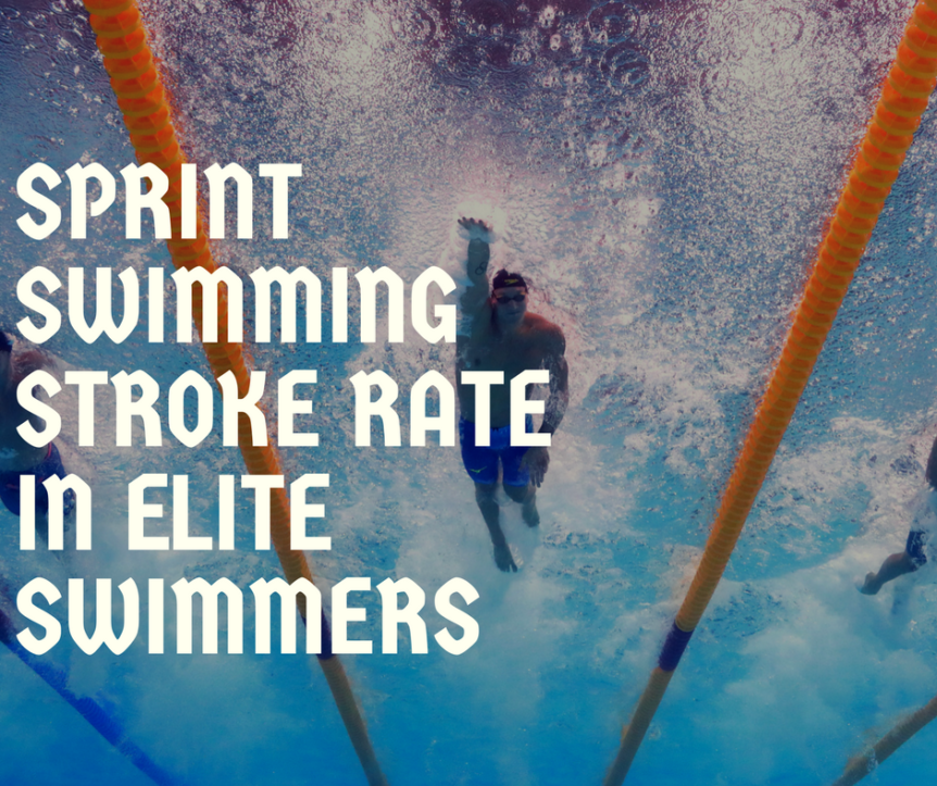 Sprint Swimming Stroke Rate in Elite Swimmers