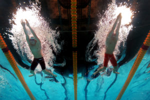 breaststrokers born or made?